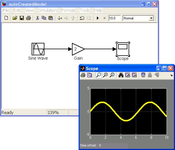 Simulink - Building Models using MATLAB Code